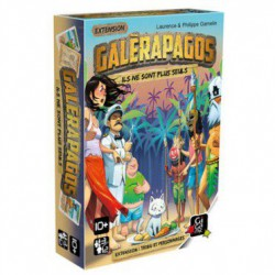 Galerapagos : extension tribu et personnages