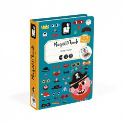 Magneti'book : Crazy Faces (Garçon)