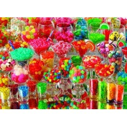 PUZZLES - 1000 PIECES - Candy Bar