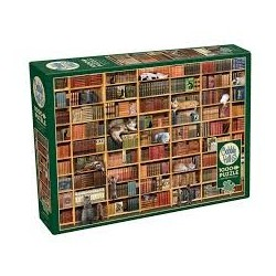 PUZZLES - 1000 PIECES - The Cat Library